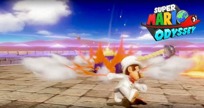 Super Mario Odyssey Game Trailer Nintendo E3 2017 With Images