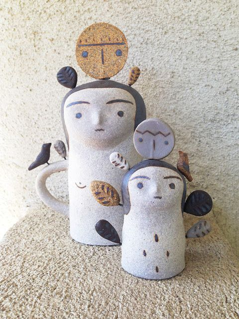 Moon to Moon: Current Obsession :Heidi Anderson's Ceramic Totems