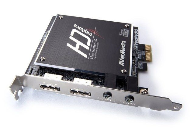 The Avermedia Live Gamer Hd 180 Is An Internal Card For Your Pc That Has Inputs For Hdmi Tv Tuner Card Video Capture Gamer