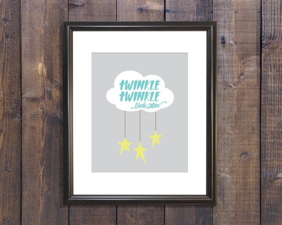 Twinkle Twinkle by thirteenwinks on Etsy