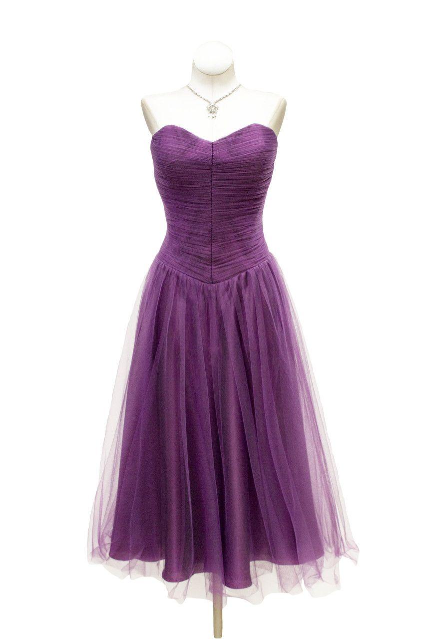 Excepcional 1950 Vestido De Cóctel Embellecimiento - Ideas de ...