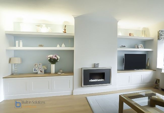 Gorgeous Built In Cupboards In Your Living Room