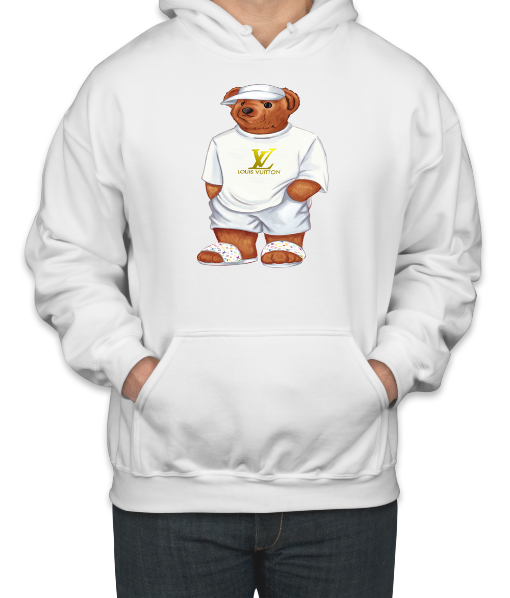 99462cf51d1949 cool LIFES LOUIS VUITTON BEAR Unisex Hoodie. cool LIFES LOUIS VUITTON BEAR  Unisex Hoodie Gucci ...