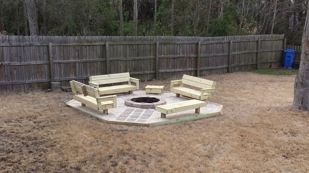 Diy backyard fire pit ideas fireplace design ideas for Building outside design