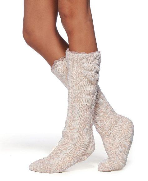 Lemon Slipper Socks with Faux Fur | My Style | Pinterest | Fur ...