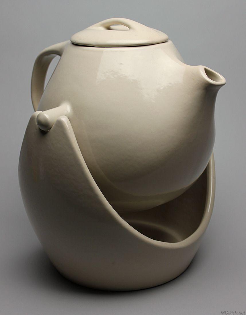 swinging coffee pot roseville pottery for raymor raymor modern  - modern