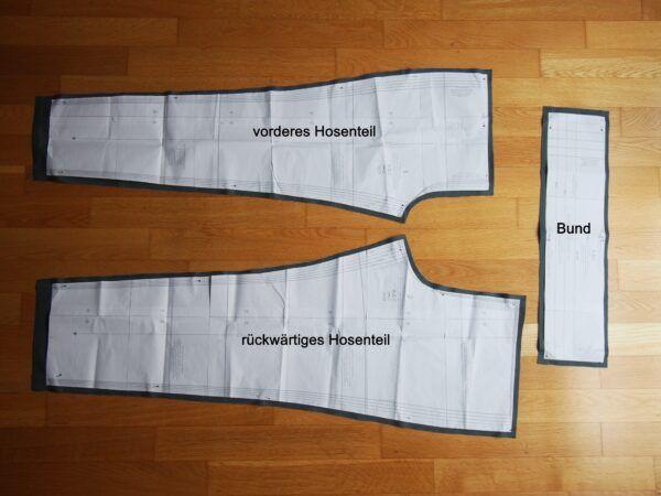 Instructions de couture: c'est ainsi que vous cousez des pantalons simples avec une ceinture élastique   – Anleitungen