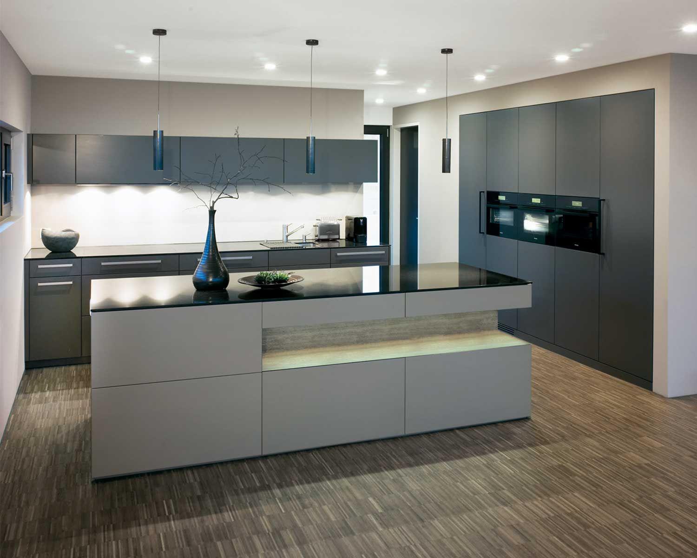 Küche Modern   Moderne Landhauskueche Weiß Klassisch Holz Kueche