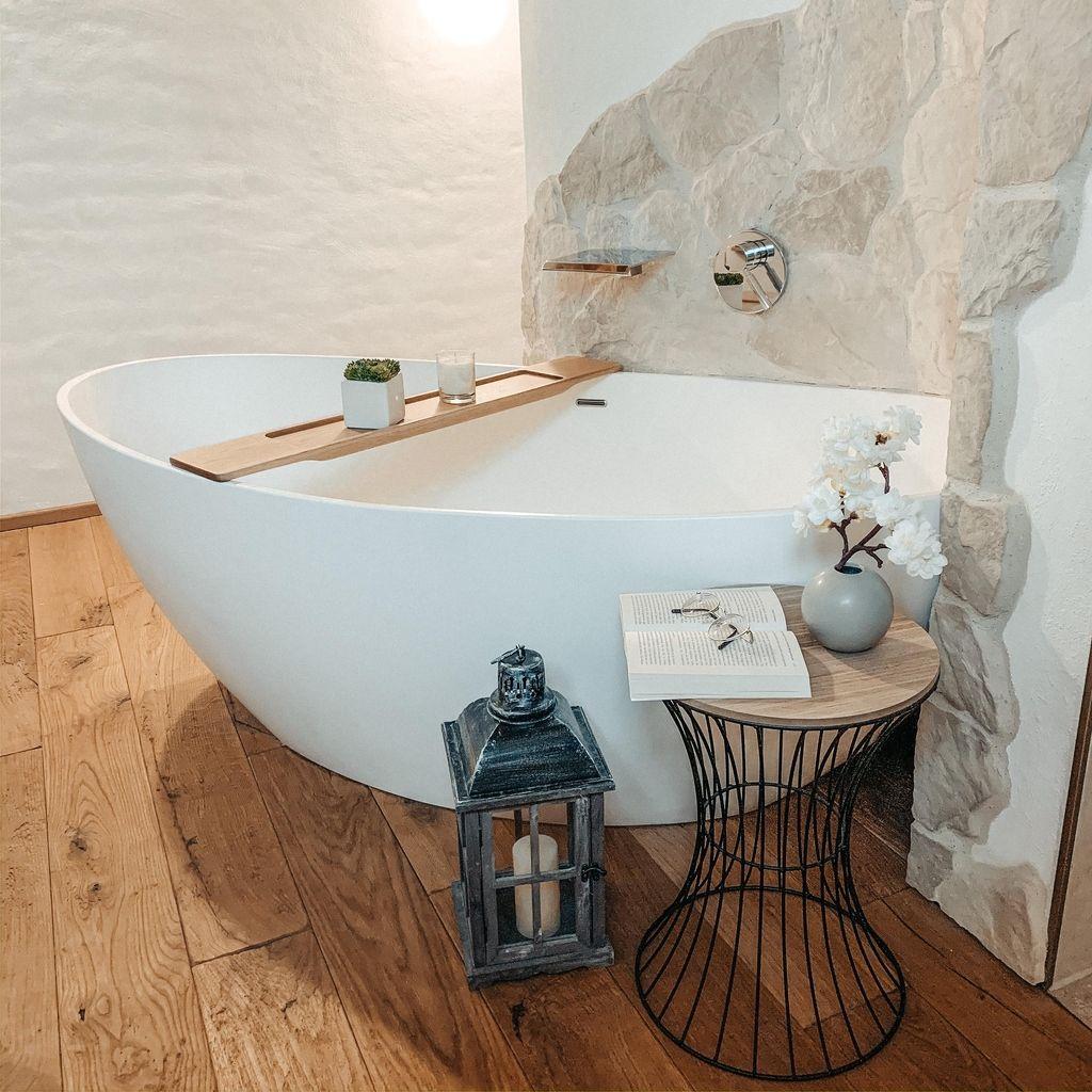 Diese Badewanne wird ganz schnell zur Wellness-Oase
