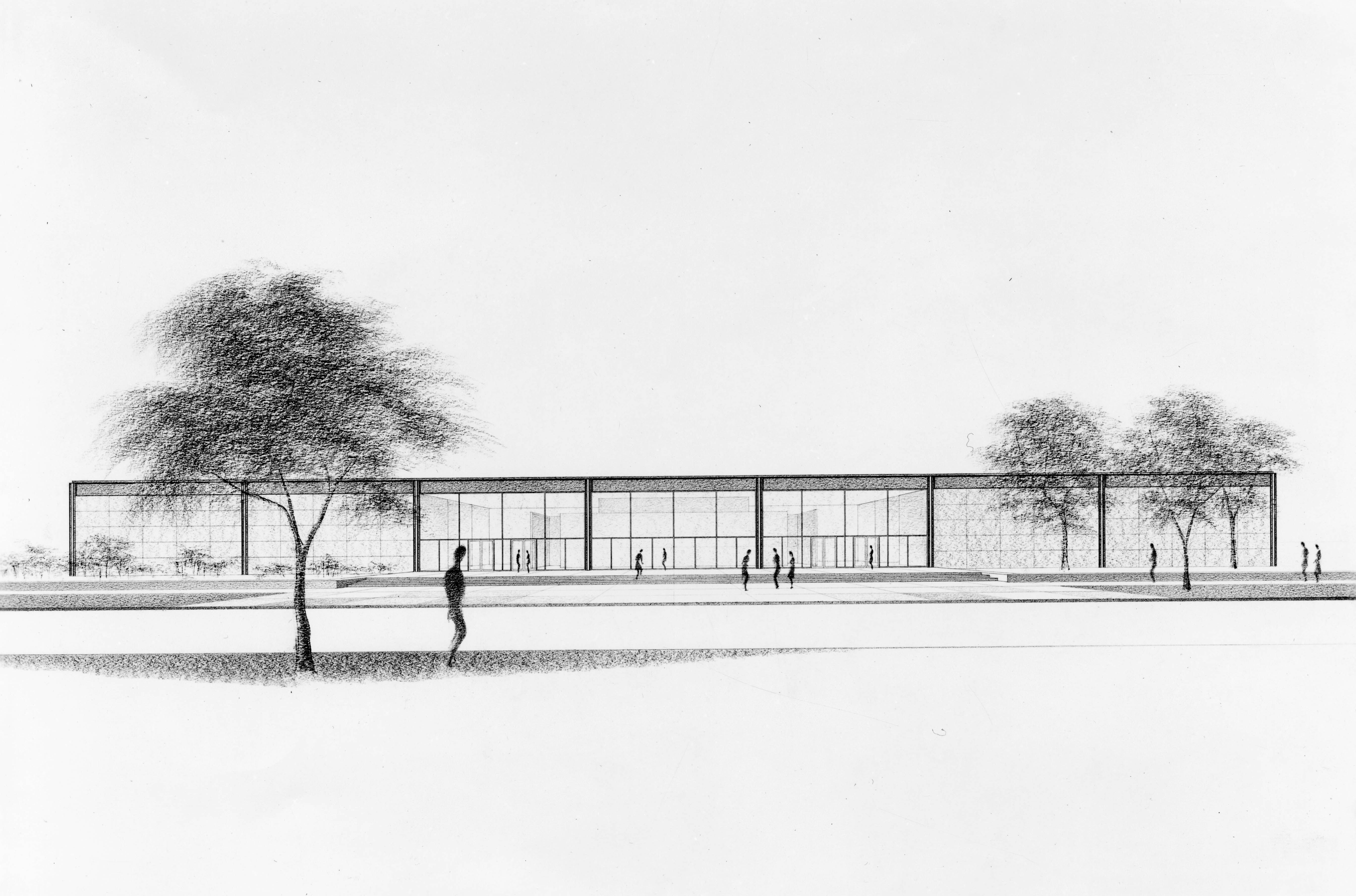 Farnsworth house by mies van der rohe exterior 8 jpg - Mies Van Der Rohe Respect The Architect Pinterest Architecture Architects And Ludwig Mies Van Der Rohe