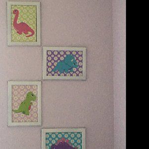 Dinosaur Decor,Dinosaur Nursery Wall Art,Dinosaur Wall Art,Dinosaur Name Wall Art,Dinosaur Nursery Decor,Dinosaur Baby Gift-UNFRAMED 4 C136 #dinosaurnursery