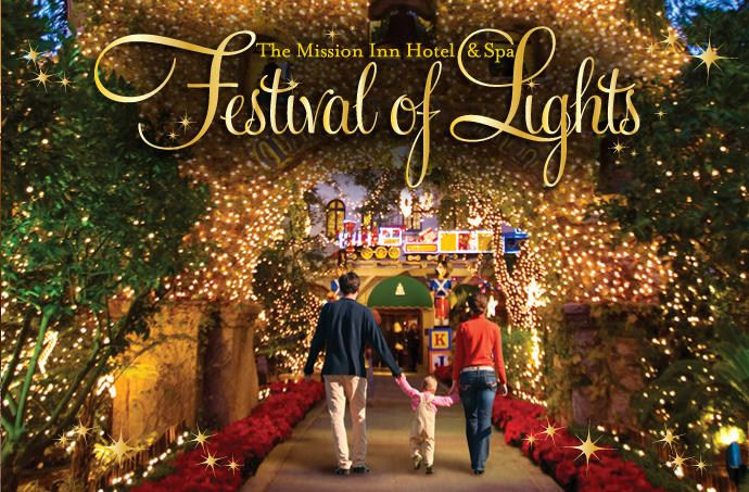 The Mission Inn Hotel & Spa - Festival of Lights - Riverside, CA ...