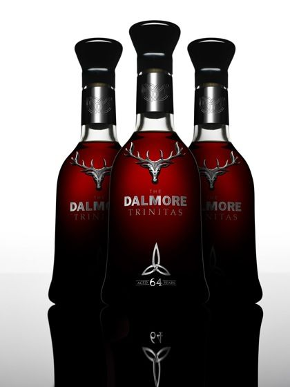 The 64 year old Trinitas from Dalmore (only 3 bottles produced)