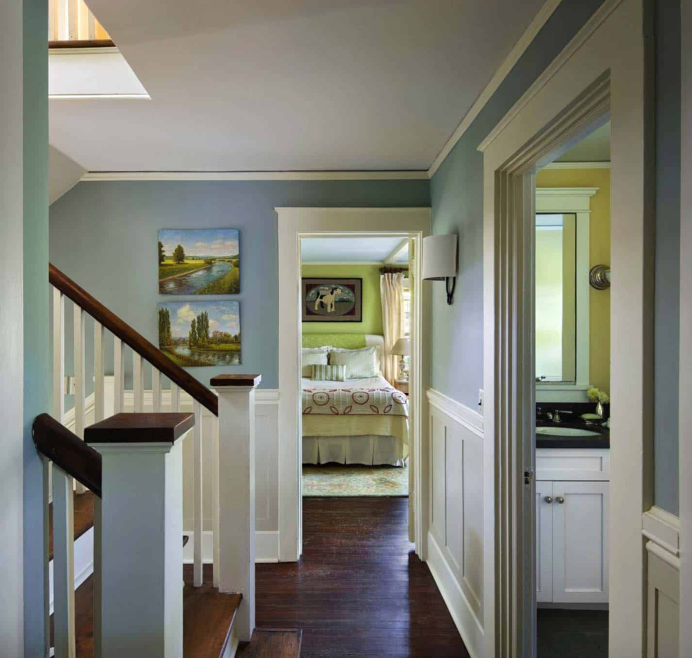 Stunning Renovation Of An American Foursquare House In New York