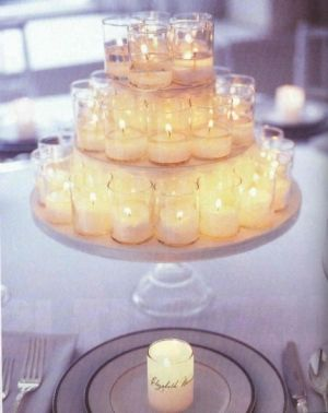 candlelit cake stand by wendyo55