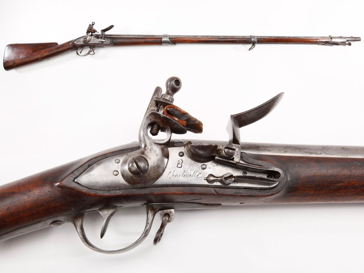 French Charleville Musket – The French Charleville musket