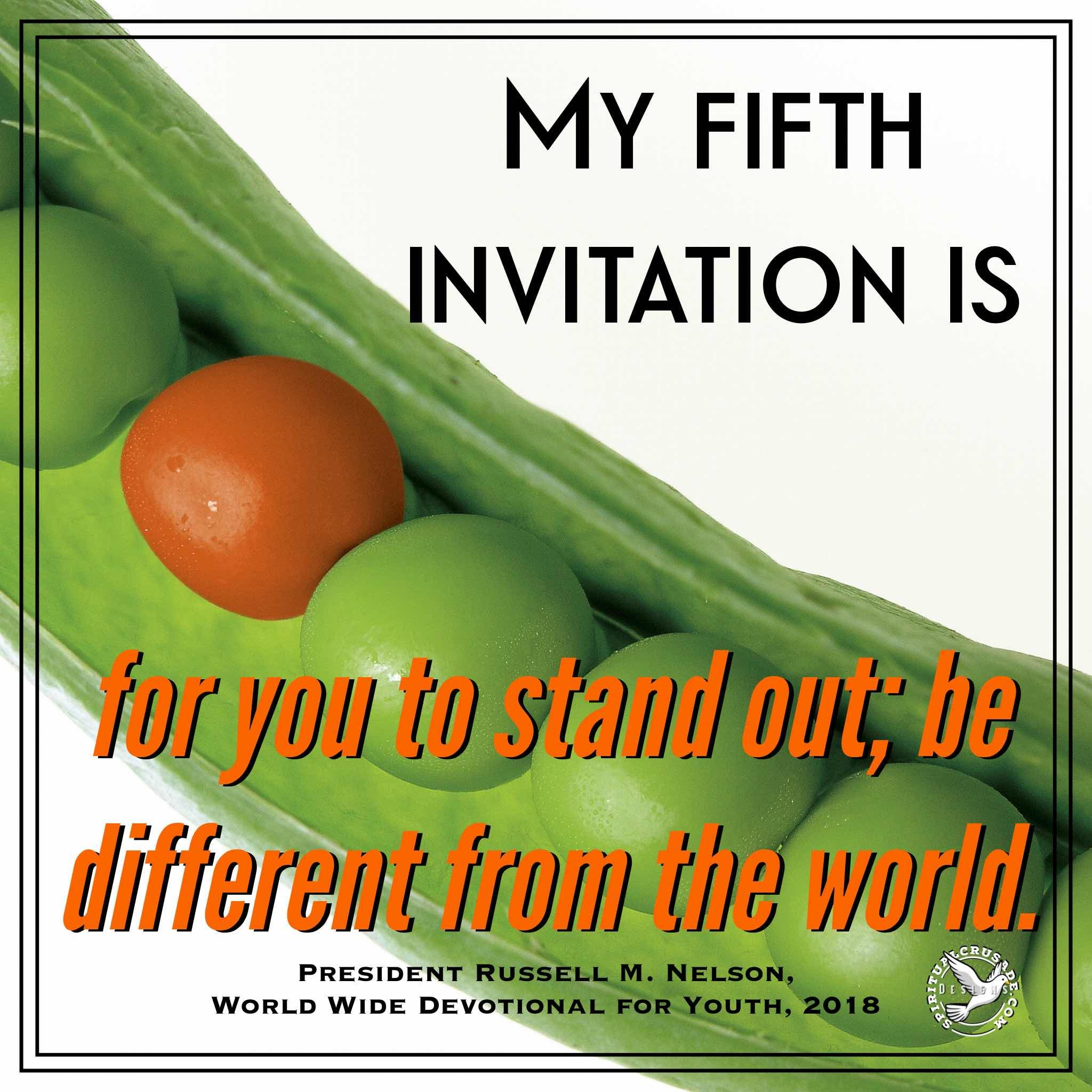 5 Invitations From A Prophet Of God To The Youth Lds Quotes