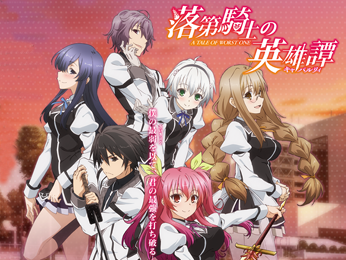 Chivalry of a Failed Knight Anime films, Action story, Anime