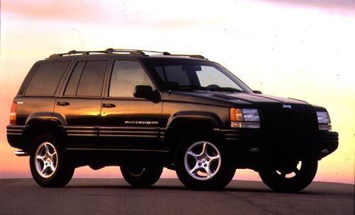 Had A Silver Cherokee Like This From 2001 2012 1998 Grand