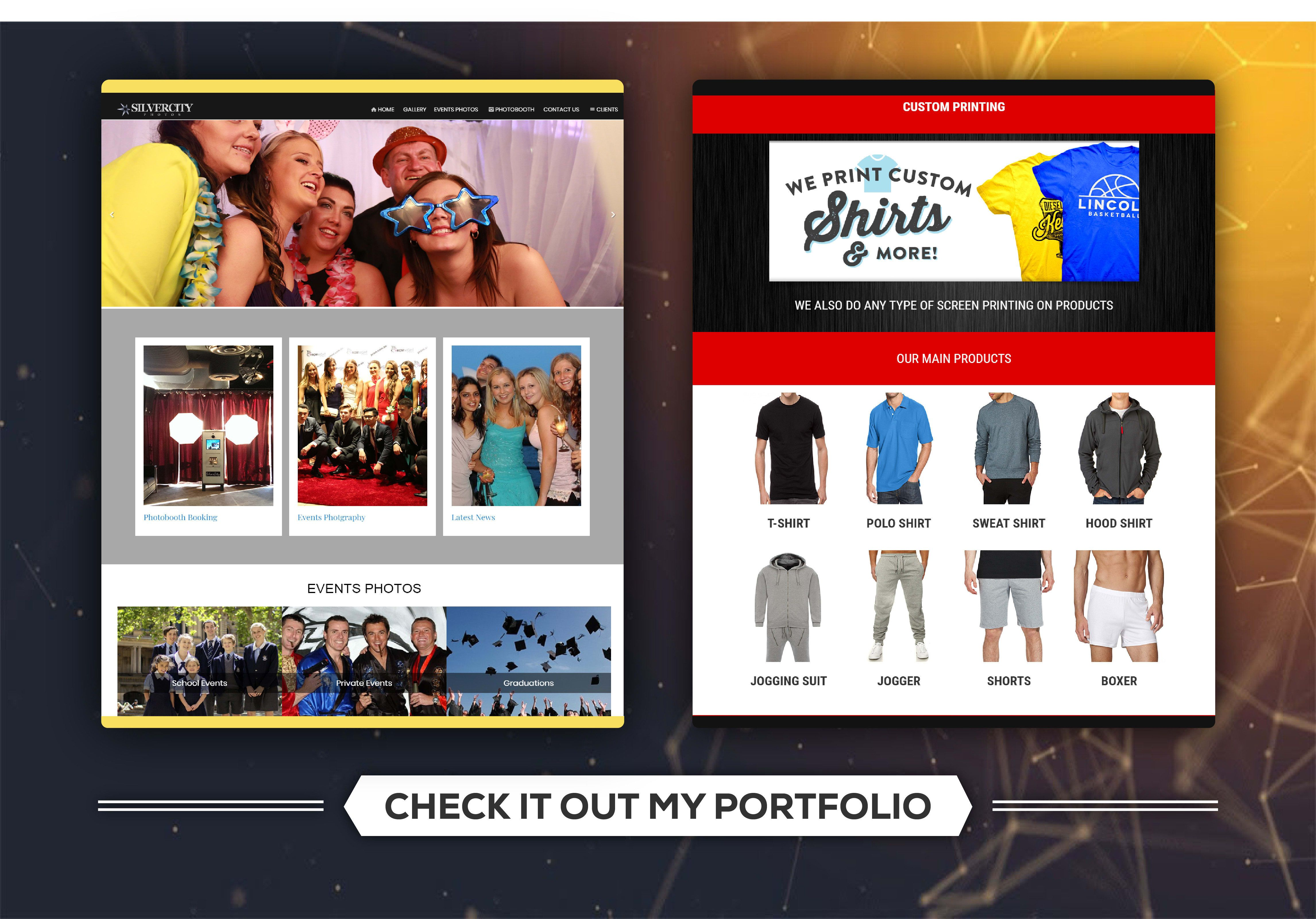 I Will Create A Professional Wordpress Website For Your Business Site Web Design Web Design Design Website