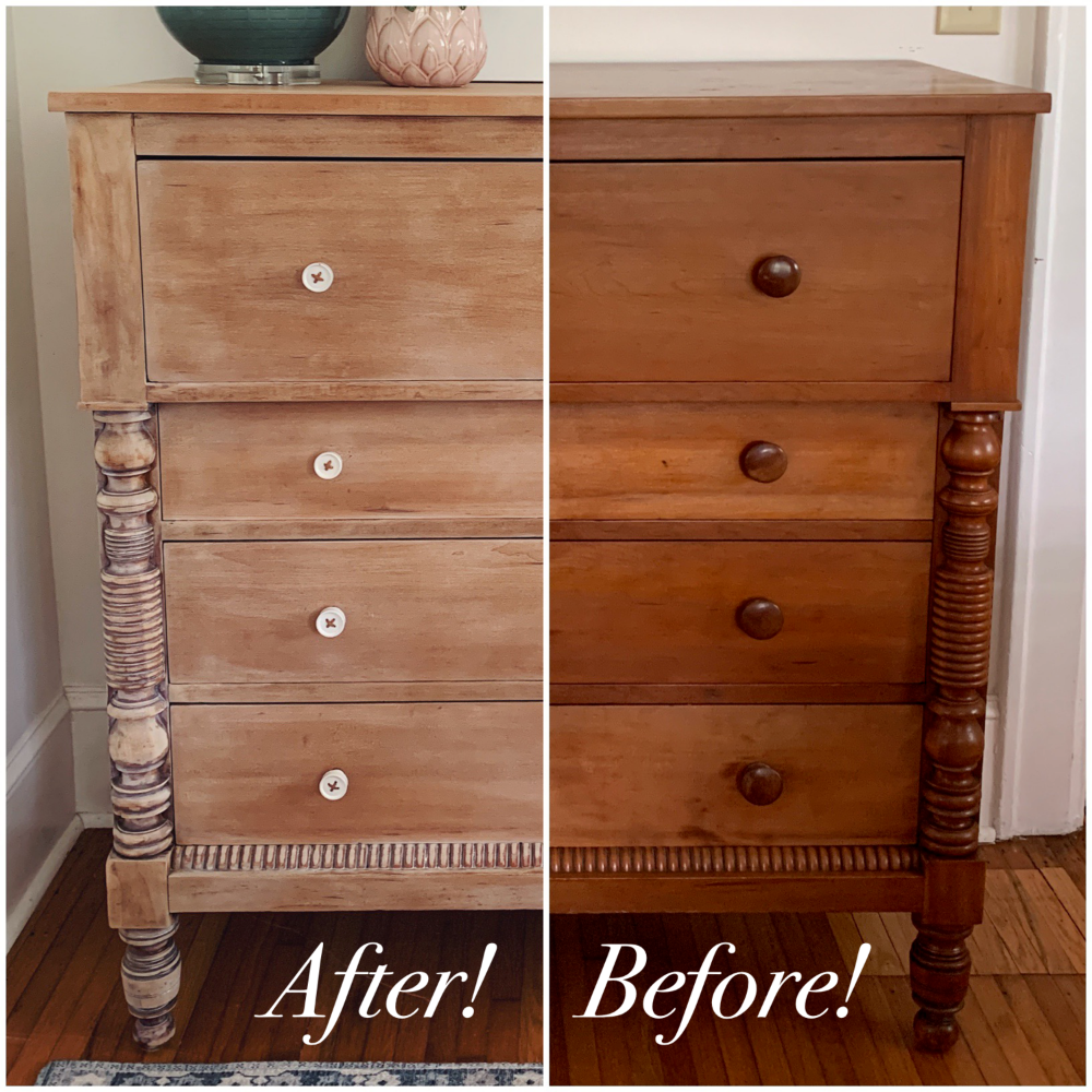 Dresser Makeover Whitewashed Weathered Look Furniture Makeover Repurposed Furniture Wood Furniture