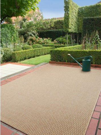 Tappeto per esterni grace plain beige arredamento for Arredamento tappeti