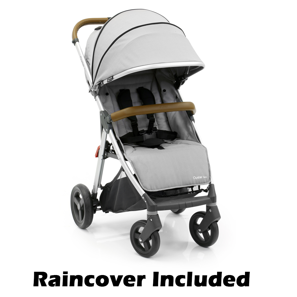 Babystyle Oyster Zero Stroller (Pure Silver) Stroller