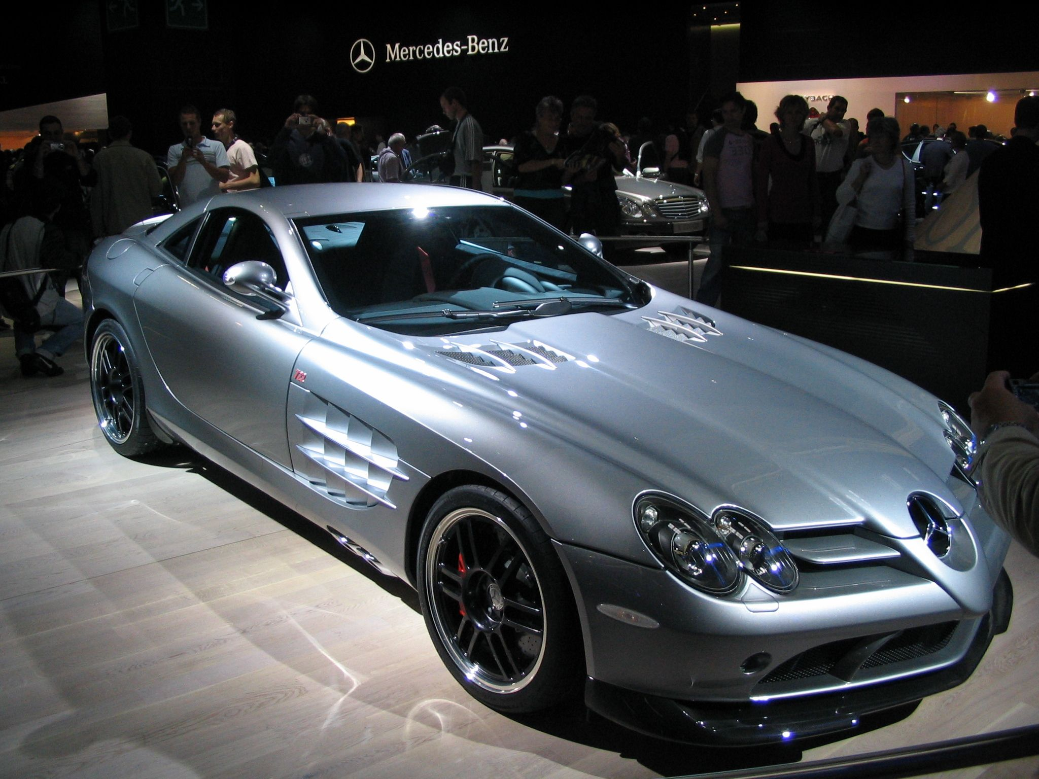 Mercedes Benz Slr 722 Edition Paris Car Show 2006 Car Show