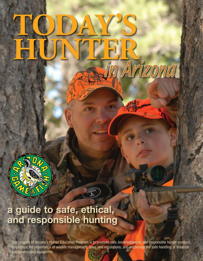 AZGFD Hunter Safety Course Safety courses, Arizona