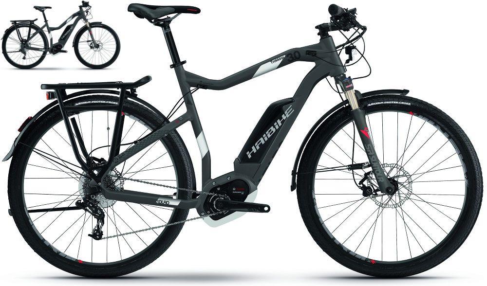 Haibike Xduro Trekking 3 0 2017 Bosch Electric Bike New Electric Bike Hybrid Bike