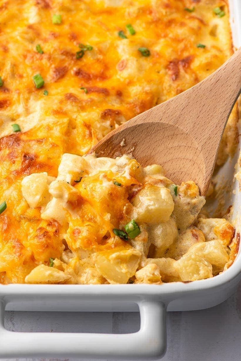 Easy Cheesy Potatoes (From Scratch!)