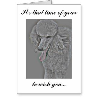 Happy birthday with poodle greeting card poodle stuff pinterest happy birthday with poodle greeting card bookmarktalkfo Gallery