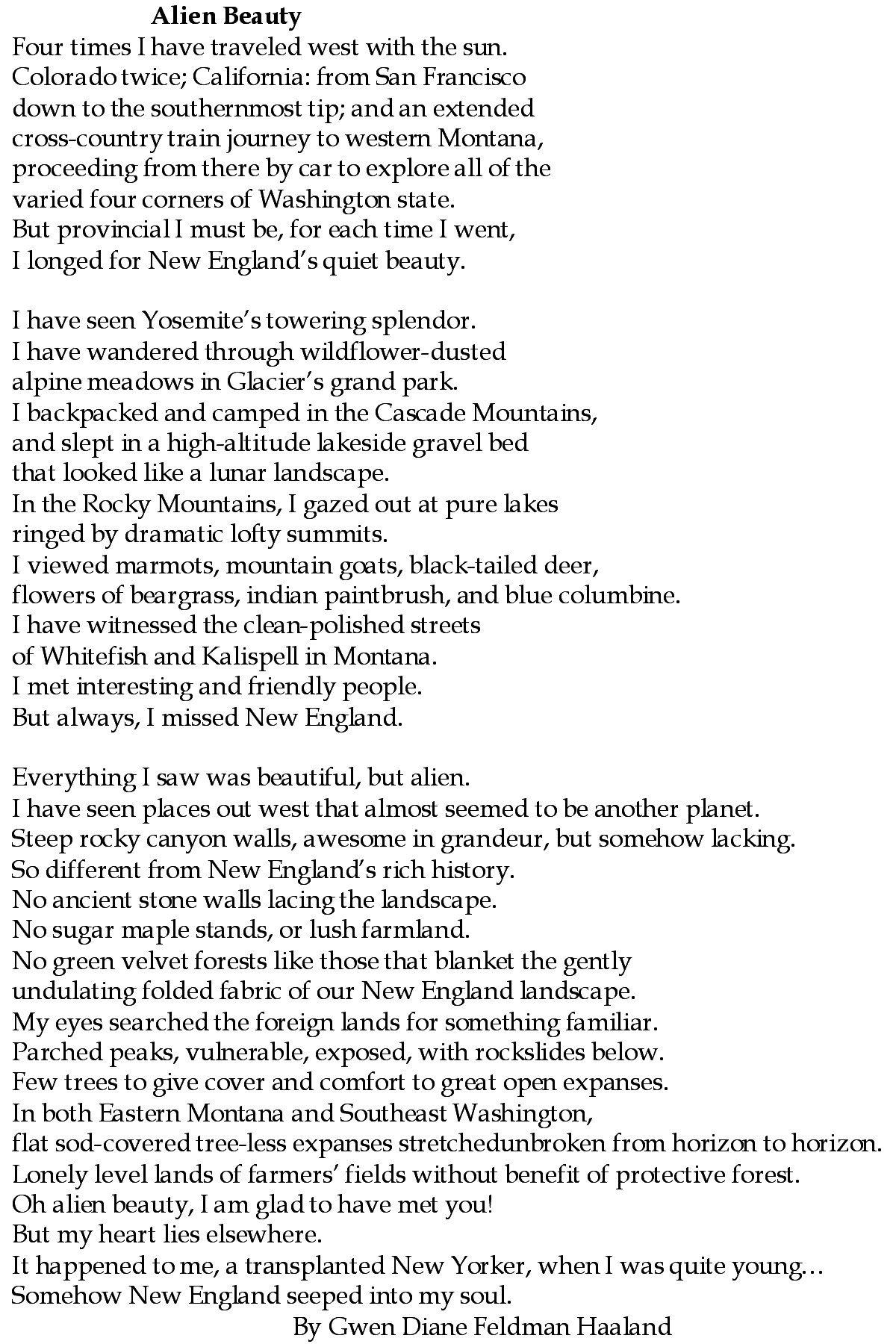 alien poem