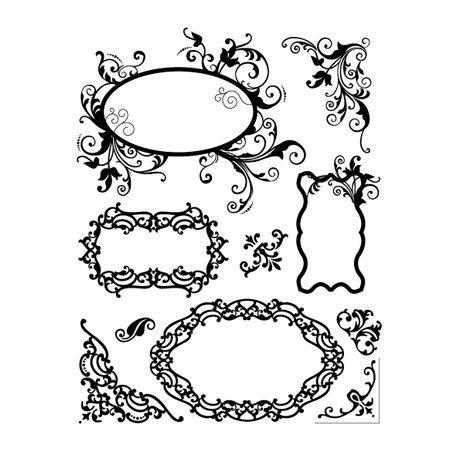 tampon dessin tag etiquette arabesque arabesques pinterest arabesque ordi et ornement. Black Bedroom Furniture Sets. Home Design Ideas