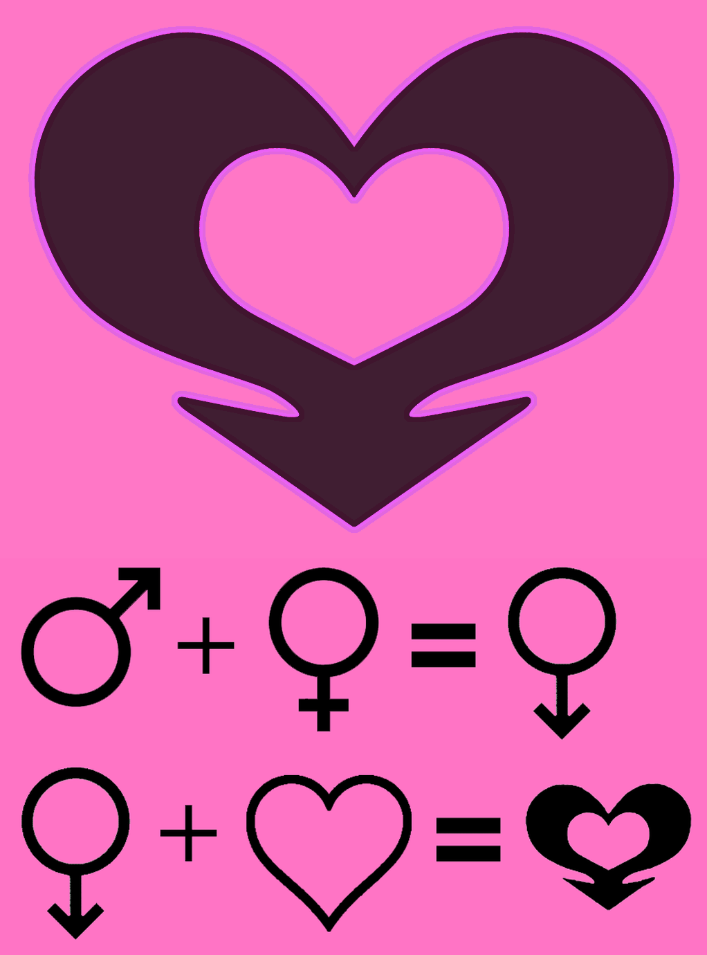 Sissyheart A Gender Symbol For Sissies First Take The Male Mars