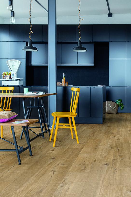 Quick-Step Livyn Flooring - Pulse 'Cotton Oak Natural' (Pucl40104
