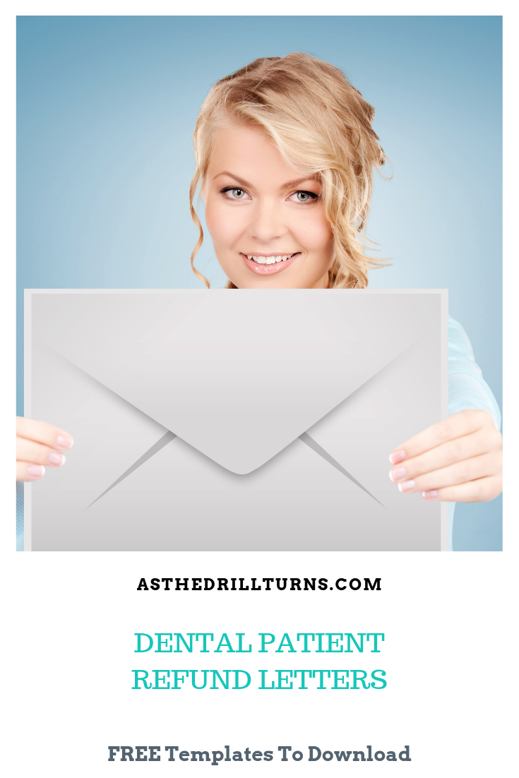 Dental Patient Refund Letters Download As The Drill Turns