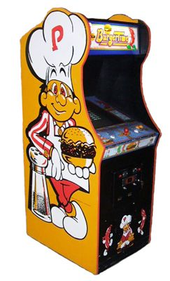 Arcade Games - Burgertime Arcade Game - Fully Restored - The ...