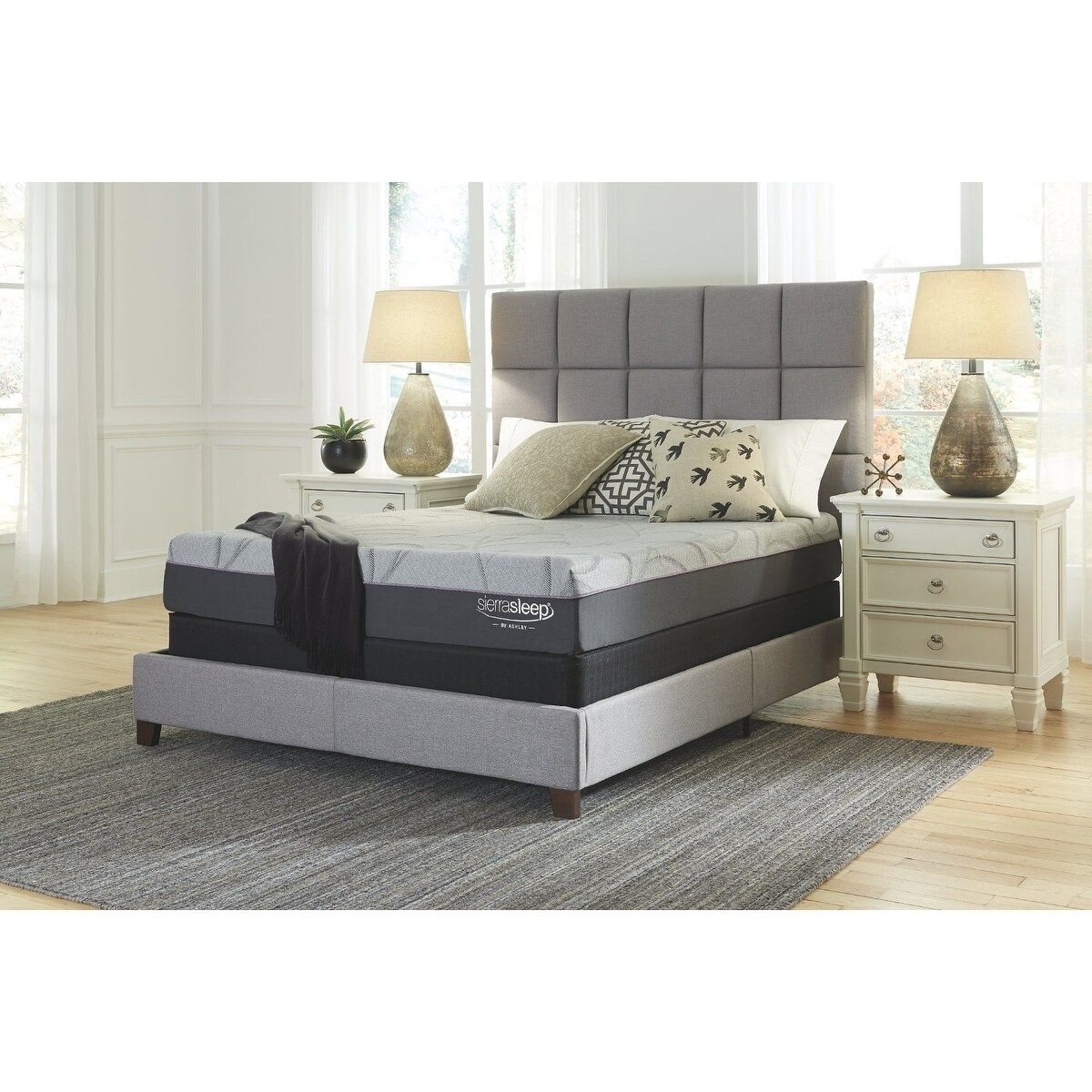 Signature Design By Ashley Palisades 10 Inch Foam Mattress With Head Foot Model Better Adjustable Bed Frame King Black Adjustable Beds Adjustable Bed Frame Under Bed Lighting