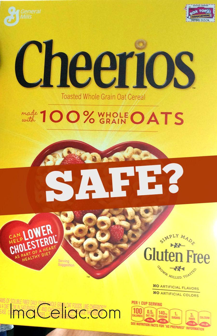 Are the gluten free cheerios safe im a celiac gluten