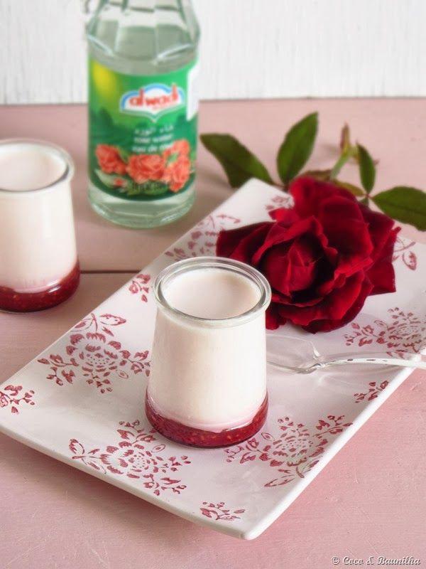Iogurte de Rosas com Frutos Vermelhos