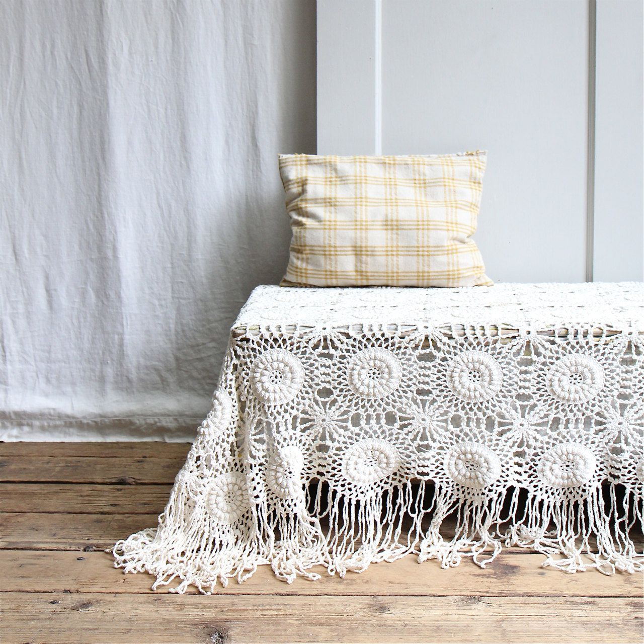 Victorian Bedding Oh Hold Vintage Crochet Bedspread Coverlet Throw