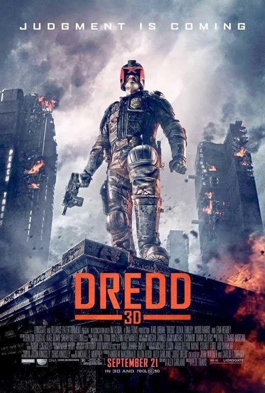 Dredd 3d Posters De Films Vieux Films Film Science Fiction
