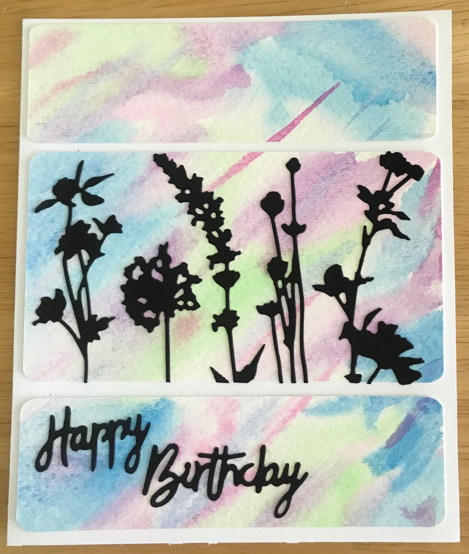 Watercolor Birthday Card Card Ideas Pinterest Card Ideas