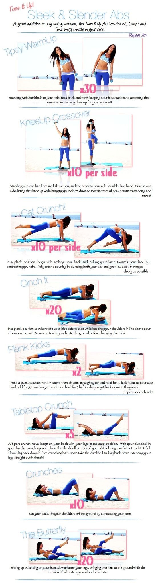 Ab Workout - InspireMyWorkout.com - A collection of