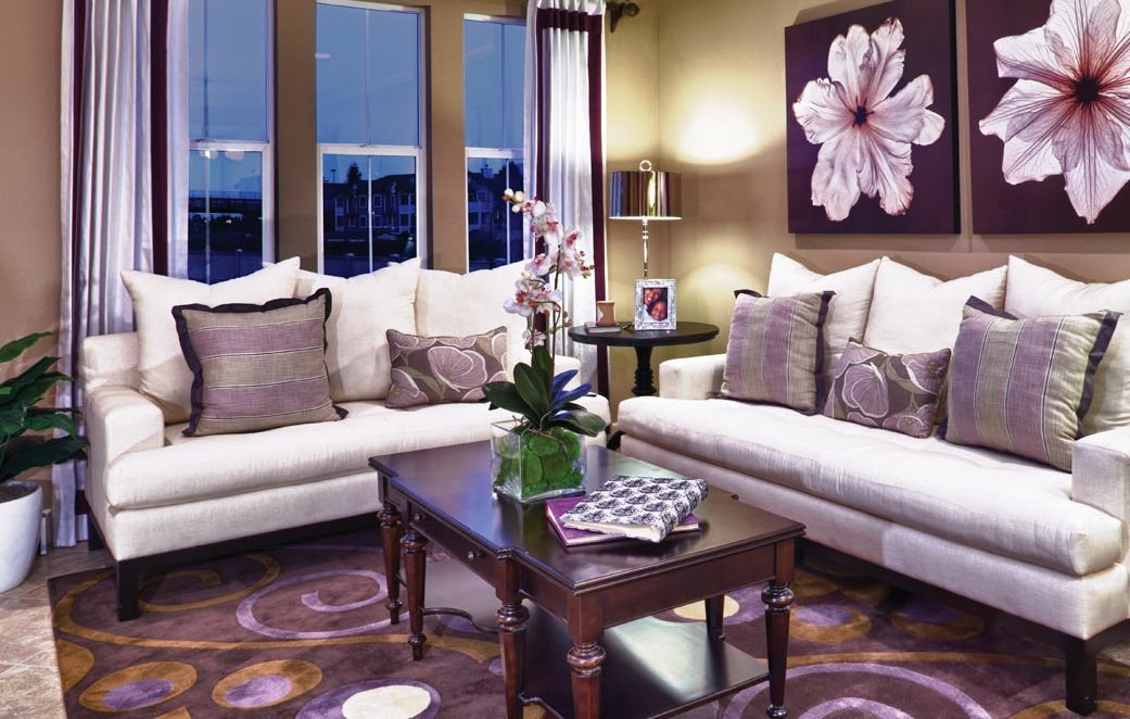 Avila at Parkside by KB Home living room (With images)