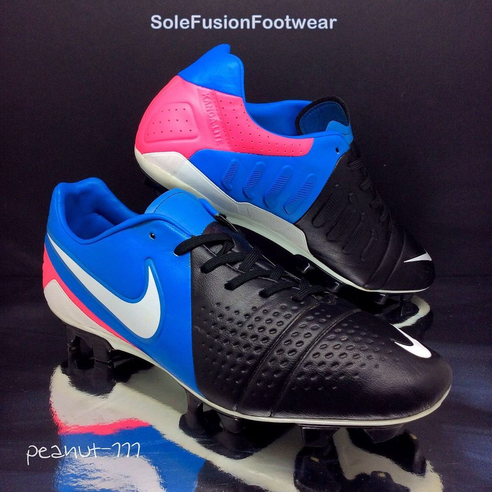 Nike Mens CTR 360 Football Boots Black/Blue size 9 Trequartista III Cleats US  10
