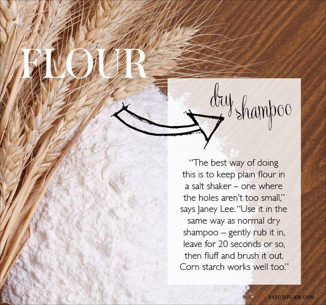 Dry Shampoo From Flour Dry Shampoo African Hair Care Homemade Beauty