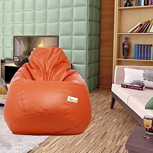 Admirable Sattva Classic Bean Bag Filled With Beans Xxxl Size Machost Co Dining Chair Design Ideas Machostcouk