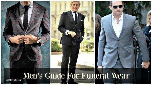 Acceptable funeral attire
